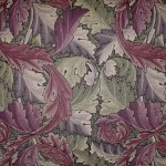 JU8700_William_Morris_Akanthus_aubergine