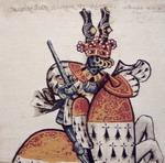 K3508 Kissen Ritter vom Goldenen Vlies - Fürst von Roubaix