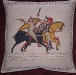 K3958 Teppich von Bayeux Kissen Reiter