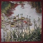 K5108 Monet Rote Seerosen - Detailansicht