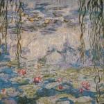 Claude Monet Seerosen Nympheas 1915-1916 als Wandteppich W5150