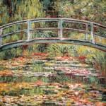 Japanische Brücke von Monet als Wandteppich W5170