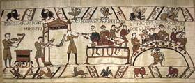 W8080 Teppich von Bayeux das Bankett