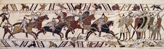 W8090 Teppich von Bayeux Reiter im Angriff