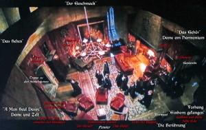 Harry Potter Gryffindor Gemeinschaftsraum Wandteppiche