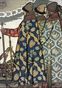 Iwan Bilibin Russische Fürsten