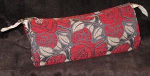 KTN1890 Kosmetiktasche schminktasche Etui mit Rosen