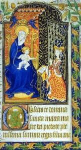 Marguerite d`Orleans Stundenbuch 1430