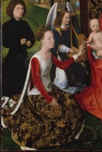 Memling_die mystische Vermählung der Heiligen Katharina