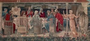 Burne Jones Holy Grail_Ritter der Tafelrunde_die_Berufung