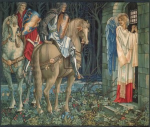 Burne Jones Holy_Grail_tapestry_The_Failure_of_Sir_Gawaine