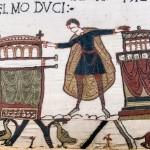 Teppich von Bayeux - Harold Godwinson schwört Wilhelm die Treue