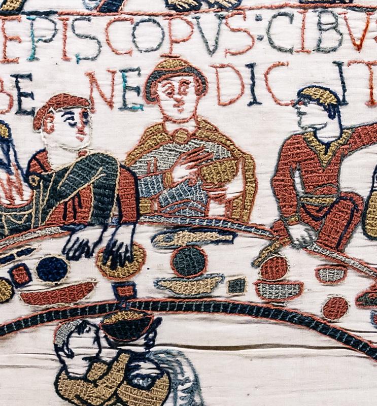 Der Teppich von Bayeux, die berühmteste mittelalterliche