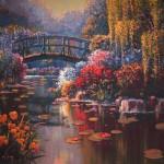 W5190 Monets Garden Pejman