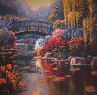 W5190 MOnets Garden von Bob Pejman
