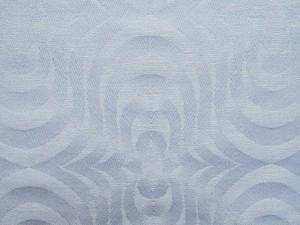 TW600 echter Damast Baumwolle Modern Art Tischwäsche weiss