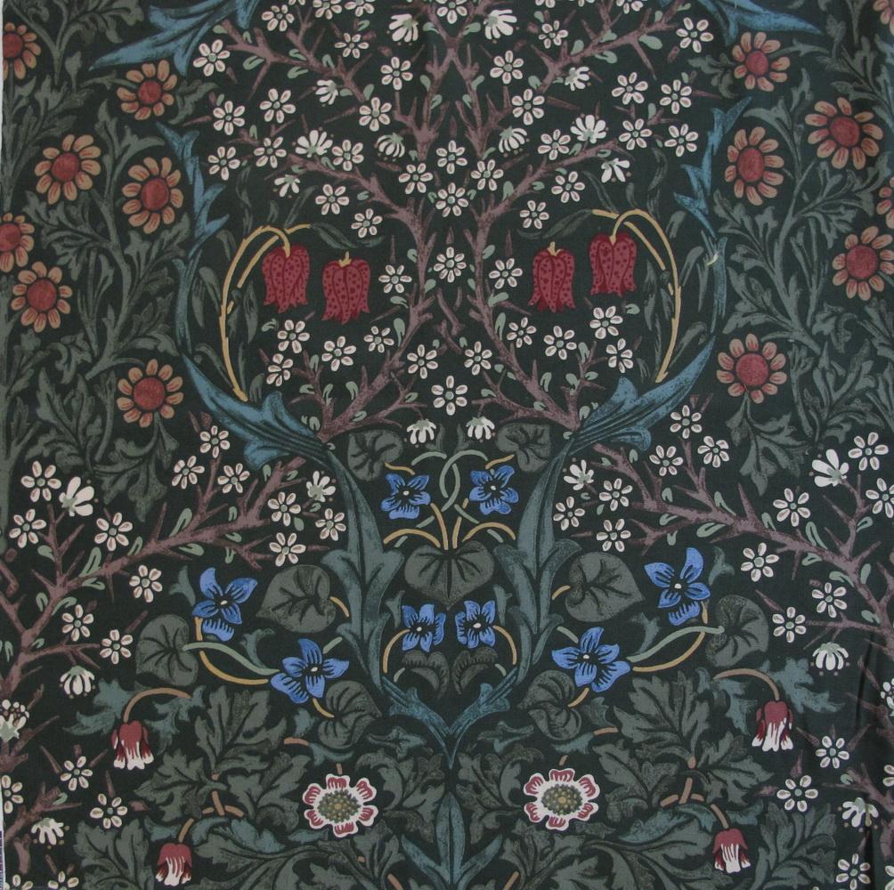Jugendstil Stoffe Tapeten : Morris Wandteppiche und Stoffe ? Mittelalter im Jugendstil Teil 2