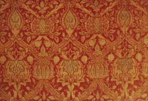 William_Morris_Granada_Originalstoff_gewebter_seidensamt