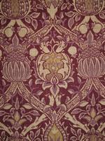 """""""Granada"""" ursprünglich ein Seidensamt-brokat, Entwurf 1884"""