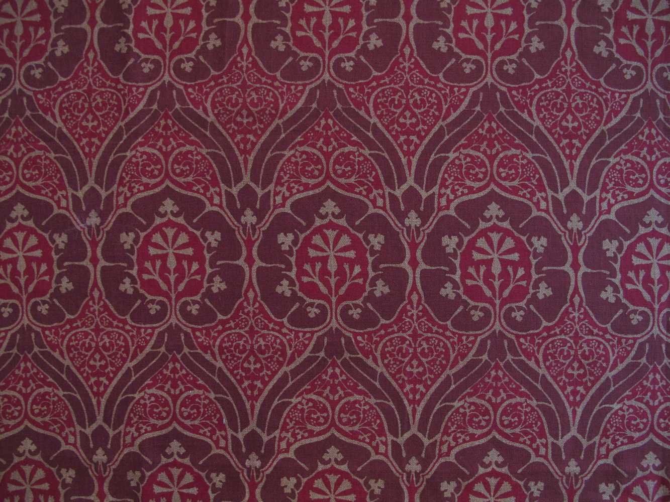 Jugendstil Stoffe Tapeten : Jugendstil/Art Nouveau ? floraler Jugendstil gro?gemusterte Stoffe