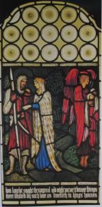 Edward Burne-Jones und William Morris Die Suche nach dem Heiligen Gral - Lancelot 1885-1886