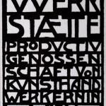 Deckblatt Arbeitsprogramm der WW 1905 Faksimile