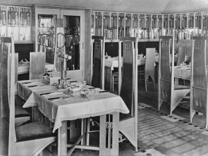 C. R. Mackintosh The Willow Tearoom Glasgow 1903