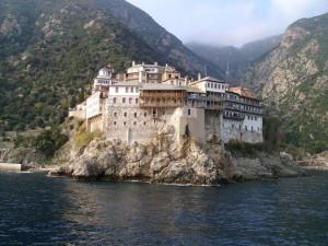Kloster Mount Athos Osiou Gregoriou