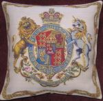 Kissen_Wappen der Stuarts_hell