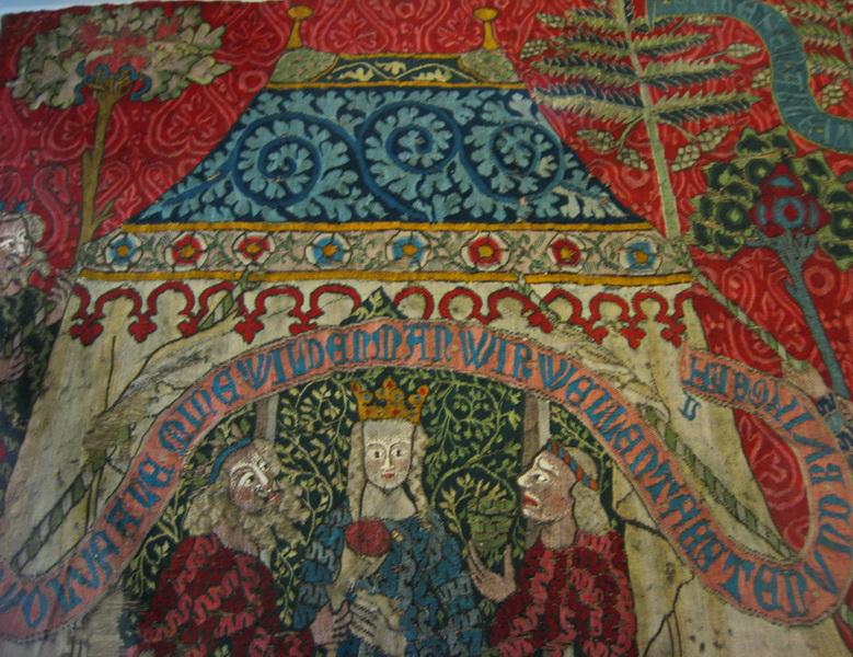Bunte Zelte im Mittelalter